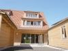 ROOMS4 - Neubau DHH in ökologischer Bauweise in der Lerchenau - Blick vom Garten