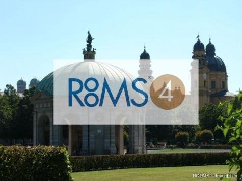 ROOMS4 – Großzügige 2 Zimmer Gartenwohnung in Bestlage Solln, 81479 München, Erdgeschosswohnung