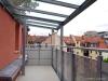 ROOMS4 - topmodernisierte 4,5 Zimmer Wohnung mit großem Balkon - Balkon mit Glasdach