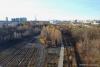 ROOMS4 - sonniges Stadthaus mit Flair in Berg am Laim/ Baumkirchen Mitte - Ausblick in die ehemalige Gleisanlage